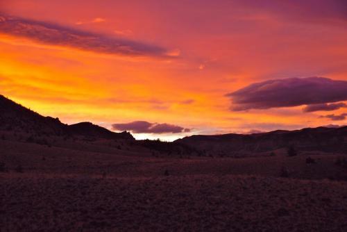 Sunrise at Trout Creek Ranch