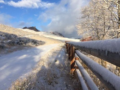 Snow at Trout Creek Ranch